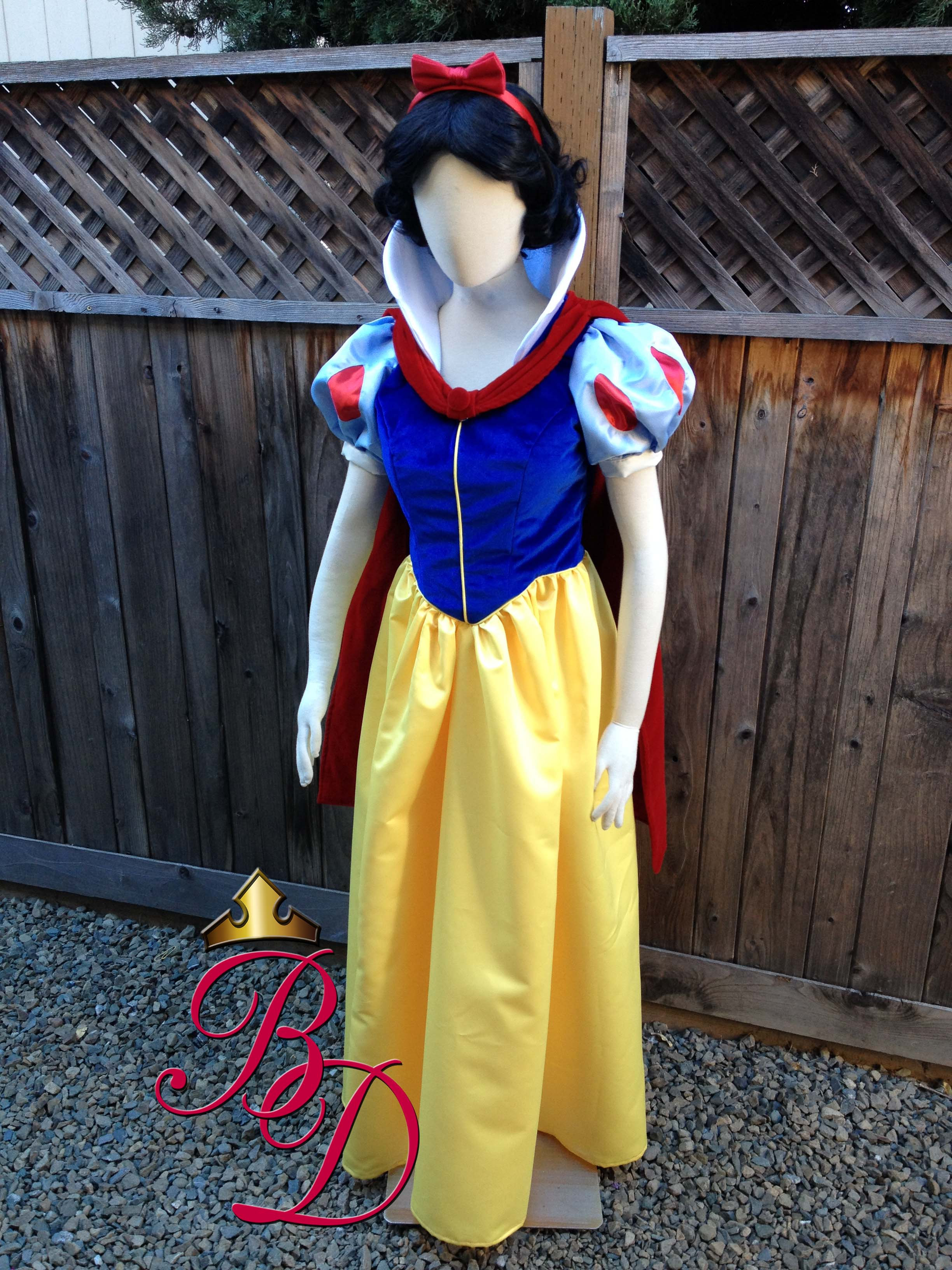 Snow White Classic Version B Adult Costume