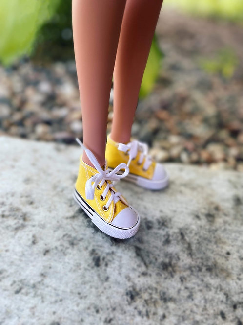Sneakers in Yellow for 1/3 BJD Smart Doll