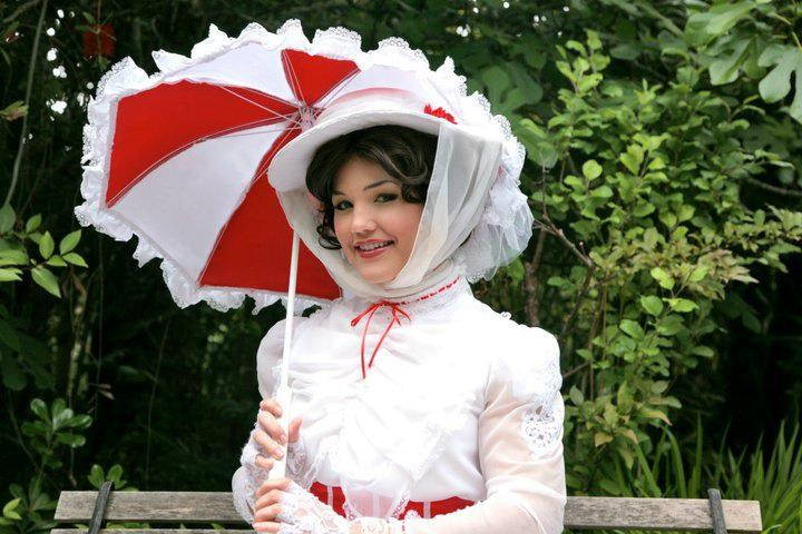 Custom Mary Poppins Victorian Hat