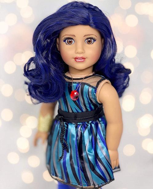 """Kiki in Raven Blue 11"""""""