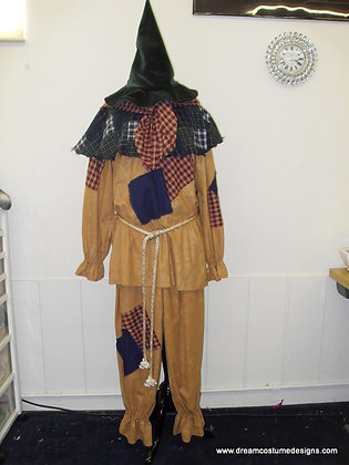 Scarcrow Wizard of Oz Men's Costume