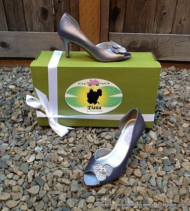 Princess and the Frog Tiana Bridal Shoes Heels