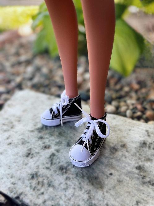 Sneakers in Black for 1/3 BJD Smart Doll