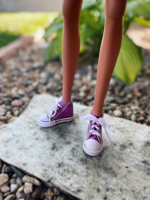Sneakers in Purple for 1/3 BJD Smart Doll