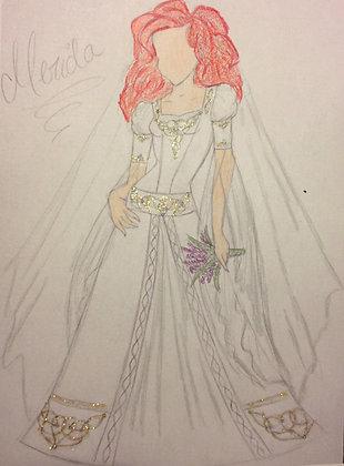 Princess Bridal Merida Preview
