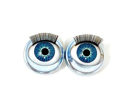 Premium Eyes Aqua Moon