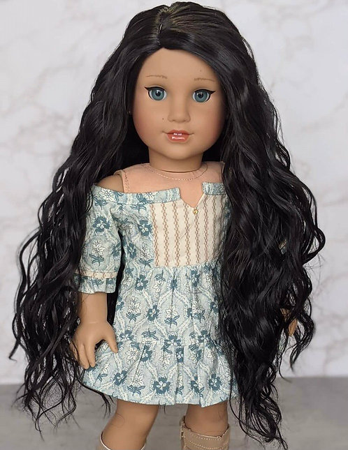 Guinevere in Black as Midnight 11""