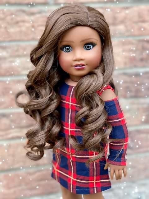 """Ella in Chestnut Brown 11"""""""