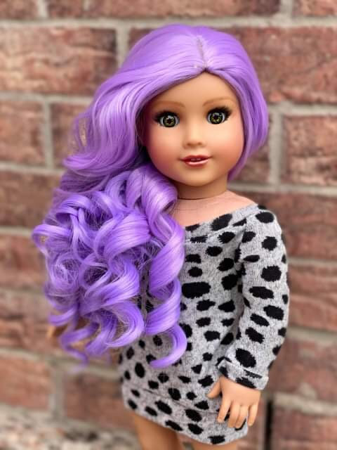 Ella in Fairy Lilac 11""