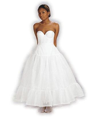 Medium Fullness Petite Bridal Crinoline #5627
