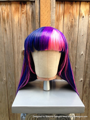 Twilight Sparkle Inspired Cosplay Wig