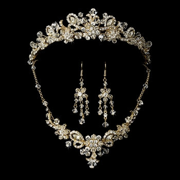 Garden Princess Tiara and Jewelry Set