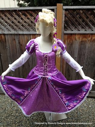 "Rapunzel Tangled Version C ""Ice Skating"" Costume"