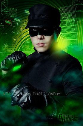Kato Green Hornet Men's Costume Adult