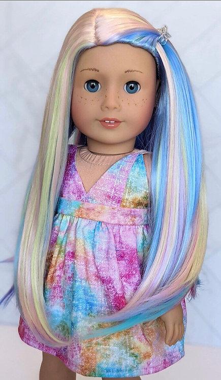 "Abigail in Rainbow Bliss 11"""