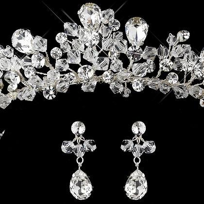 Elsa Ice Princess Tiara and Jewelry Set