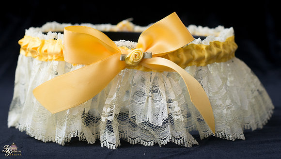 Beauty and the Beast Inspired Garter