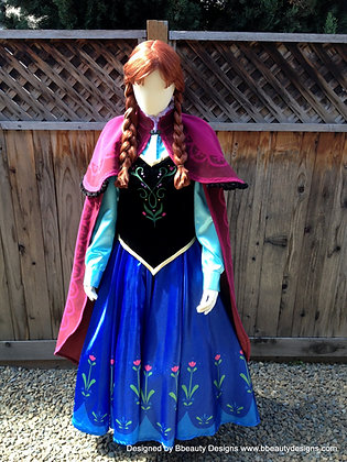 Anna Frozen Peasant Outfit Version C Costume