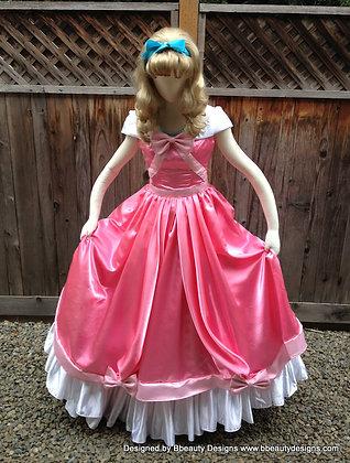 Cinderella Pink Mice Dress Ballroom Style