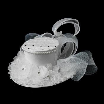 Wonderland or Circus Themed Bridal Top Hat