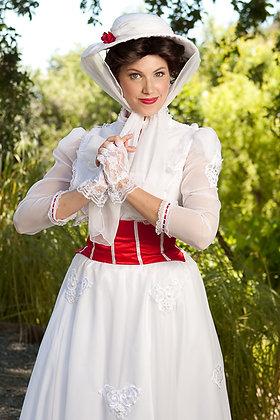 Custom Mary Poppins Adult Costume