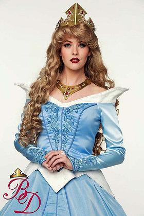 Fantasy Sleeping Beauty Blue Adult Costume
