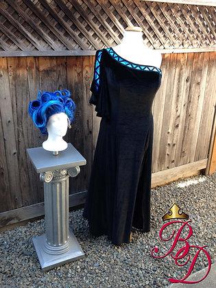Hades Genderbent Female Underworld Costume