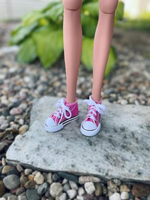 Sneakers in Dark Pink for 1/3 BJD Smart Doll