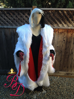 Cruella DeVil OUAT Replica Adult Costume
