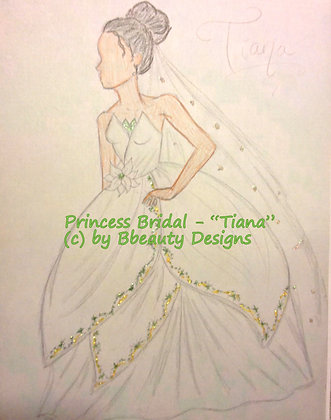 Princess Bridal Tiana Gown Preview