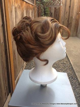 Jane Tarzan Gibson Girl Style Wig Custom Style