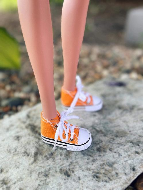 Sneakers in Orange for 1/3 BJD Smart Doll