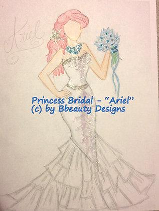 Princess Bridal Ariel Preview