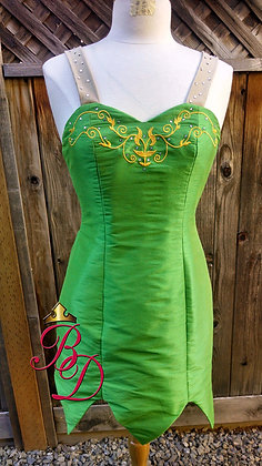 Tinkerbell H Costume Fairy Adult Embroidered