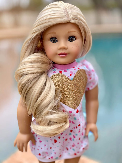 "Katie in Champagne Blonde 11"""
