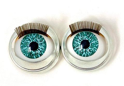 Premium Eyes Aquamarine Sparkle