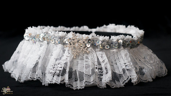 Winter Wonderland Inspired Garter