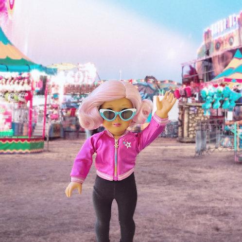 """Betty in Petal Pink 11"""""""