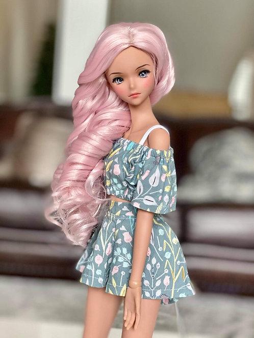 """Ella Wig in Petal Pink 8.5-9"""""""