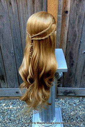 Cersei Inspired vA Braided Hair Lace Front Wig
