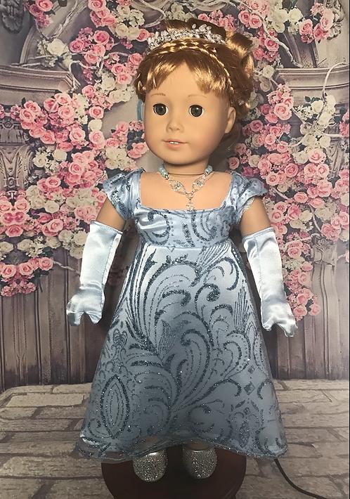 Daphne Bridgerton Glitter Dress Set