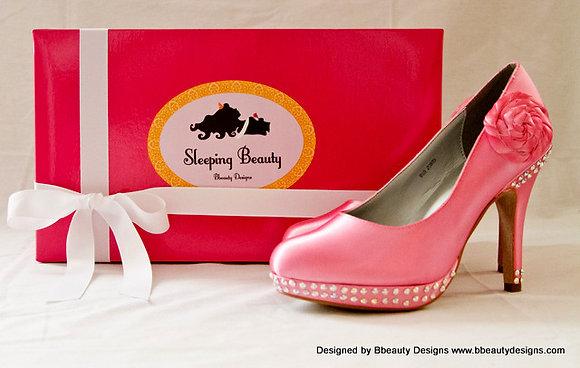 Sleeping Beauty Aurora Bridal Shoes Heels