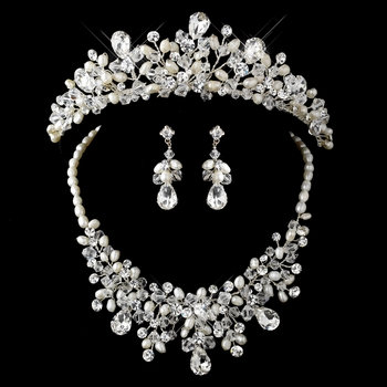Lady of the Lake Princess Tiara and Jewelry Set