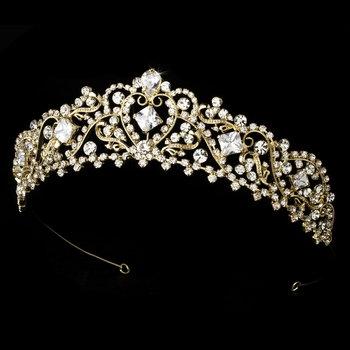 Sleeping Beauty Gold Bridal Romance Tiara