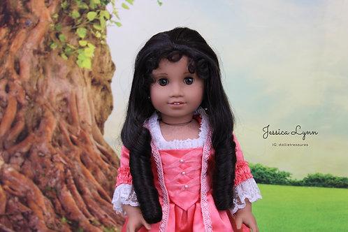 Amelia in Dark Brown Unstyled
