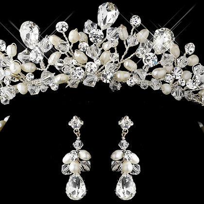Princess Bride Tiara and Jewelry Set