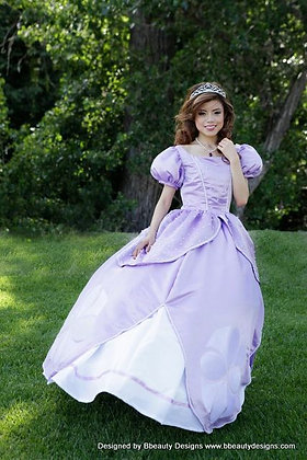 Sofia the First Princess Inspired Adult Dress Gown