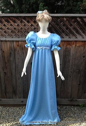 Wendy Darling Peter Pan Adult Costume Nightgown