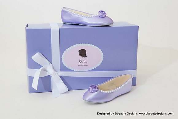 "Sofia the First  ""Rose Ballet"" Child Shoes"