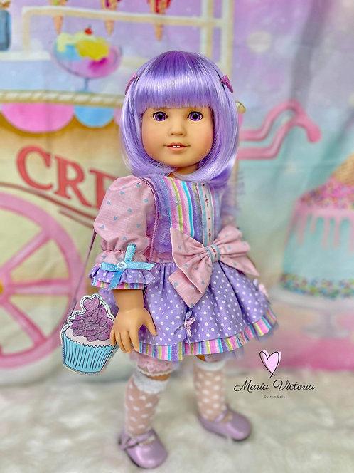 """Zoey in Lavender 11.5"""""""